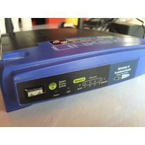 Router Wireless Linksys Wrt54g - Excelente Estado