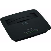 Router Modem Adsl2+ Wifi N300 Linksys Cisco X1000 Adsl