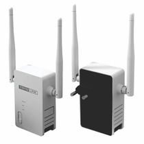 Router Mini Amplificador De Wifi Doble Antena Directo 220v