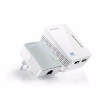 Extensor De Wifi Tp-link Wpa4220kit Powerline Red Electrica