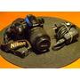 Nikon D3000 Con Lente 18-55mm 1:3.5 - 5.6 G Oportunidad!