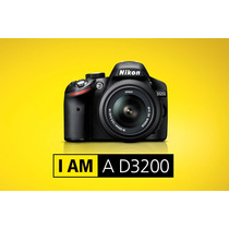 Nikon D3200 Kit 18-55 Vr 24.2mp Full Hd Rosario