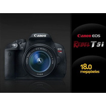 Canon T5i 18-55 Stock Y Garantía 2 Unidades Efectivo