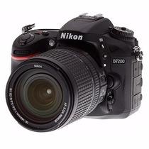 Nikon D7200 Kit 18 140mm Vr Dx 24.2mpx Full Hd Wifi Garantia