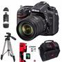Nikon D7100 18-105 24mp Full Hd + Sd 8gb + Bolso + Trípode++