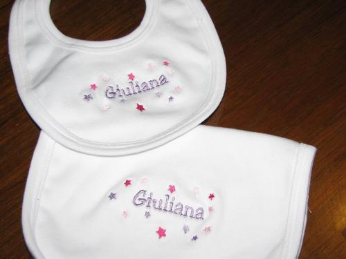 Regalos Para Nacimientos Personalizados Bordados - Bebes
