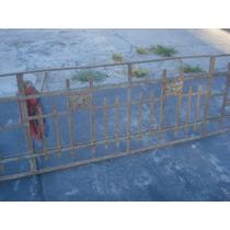 Antigua Reja Remachada De 2,21 X 59cm Alto