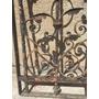 Antigua Puerta De Hierro Maciza