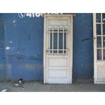 Puerta De Frente De Cedro Con Ventanita De 2.28 X 94 Mts.