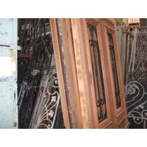 Puerta En Cedro Reciclado Antiguo
