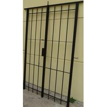 Puerta Reja Abrir Cerradura Pasador Ventana Balcon 120x200