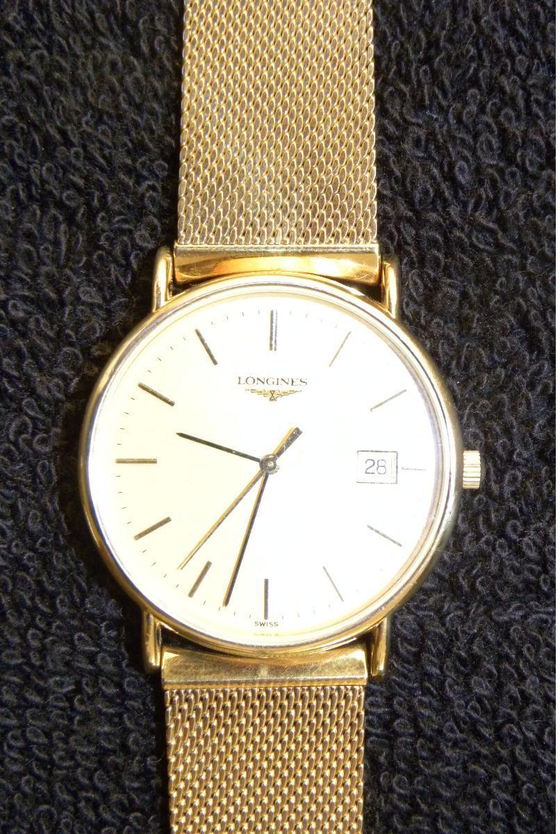 8875638bd3fe relojes longines oro usado