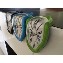 Reloj Derretido De Colores! Dali.