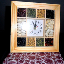 Reloj De Pared Con Legumbres/esmuychuli