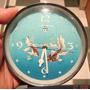 Buen Reloj Mueve Ojos Diseño Retro Vintage Cromo Sputni Hay+