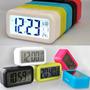 Reloj Despertador Digital Luz Led Snooze Sensor