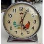 Buen Reloj Mueve Ojos Pico Diseño Retro Vintage Cromo Hay++