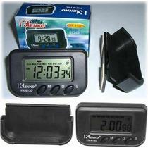 Reloj Digital P/el Auto Hora/cronometro Se Retira X Almagro
