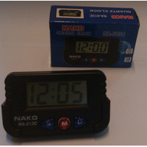 Reloj Digital Para Auto U Hogar Base Removible