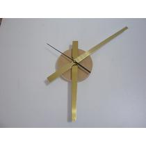 Kit Para Armar Relojes Grandes Aguja 21 Cm Minutero