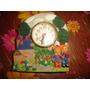 Reloj De Resina Niños Decoracion Infantil Diseños En Relieve