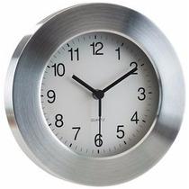 Reloj De Pared Aluminio Importado!!!