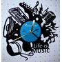Reloj De Vinilo Diseño Regalo Original