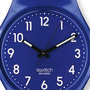 Reloj Swatch Gn 230 Silicona Azul Up Wind Wr30mts