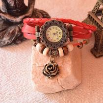 Relojes De Cuero Vintage C/ Dije Nuevos Modelos!!!