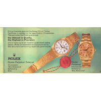 Catàlogo Rolex Bucherer 1960
