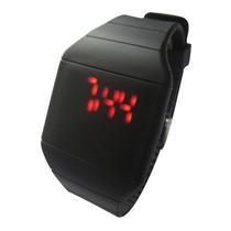 Reloj Led Touch Digital Deportivo Unisex Plastico Silicona