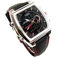 Reloj Casio Efa-120l Termometro Pantalla Activa 99 Laps Gtia