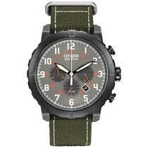 Reloj Citizen Ca4098-14h Military Eco Drive Agente Oficial