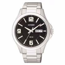 Reloj Citizen Hombre Acero Bf200155e Agente Oficial