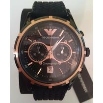Outlet Ver Detalle Reloj Cronometro Armani Ar0584 Original