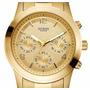 Reloj Guess Mujer W13552l1 Crono Dual Time Original Oficial
