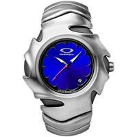 Oakley Blade Ii Watch Polished Stainless Steel Blue Swiss M