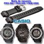 Malla De Reloj Casio Prg260 / Prg550 / Prw3500 Local Centro