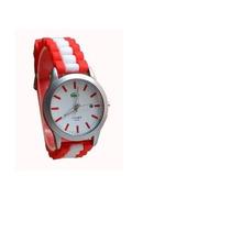Reloj Importado Excelente Malla Silicona Con Calendario
