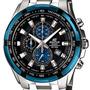 Reloj Casio Edifice Ef-539d-1a5 Cronógrafo Cristal Mineral