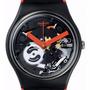 Reloj Swatch Gb290 Red Frame Original Oficial