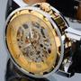 Reloj Clásico Sumergible Transparente Fino Estuche Otr Model