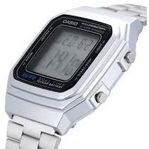 Reloj Casio A-178wa Vintage 10 Años Pila Cronometro Alarma