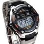 Reloj Casio Ae-2000wd-1a Hora Mundial, 5 Alarmas, Timer, Sum