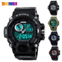 Reloj Militar Deportes S-shock Digital Luz Sumergible 50mts
