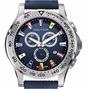 Reloj Nautica Hombre A19597g Crono Banderas Agente Oficial