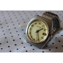Reloj Citizen Hombre Vintage Acero Inox Nuevo Luminiscente