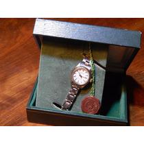 Reloj Rolex Dama Combinado Automático Con Calendario C/caja