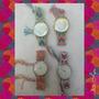 Originales Relojes Tejidos En Macramé!