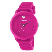 Reloj Caro Cuore Time P/mujer, Silicona Mod: Cc02-pupk